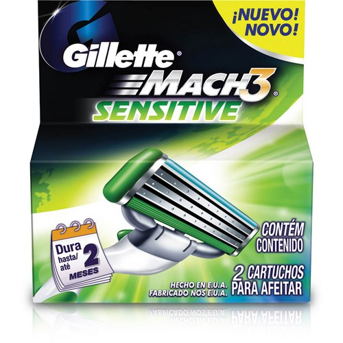 Carga Mach3 Sensitive Com 2 Unidades
