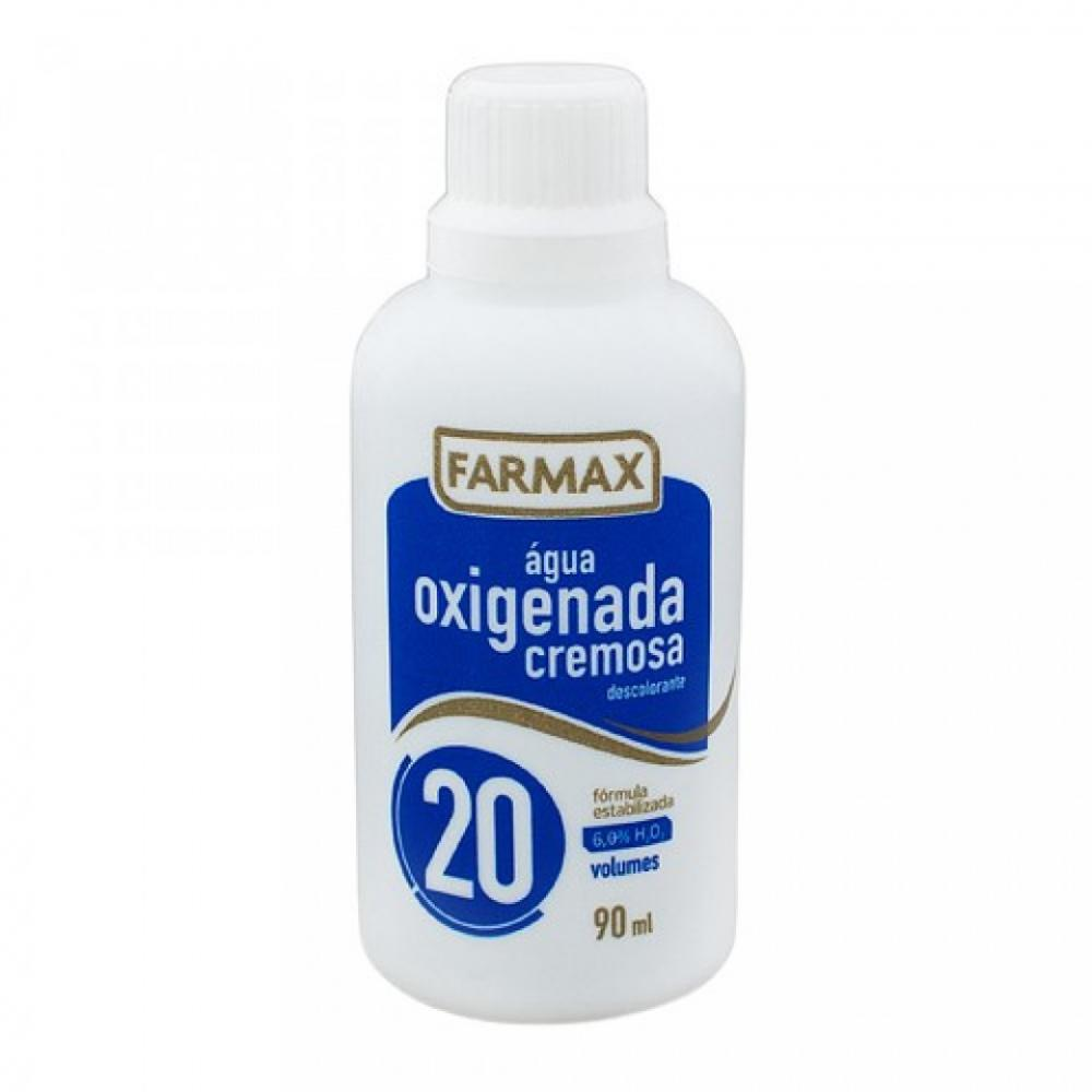 Agua Oxigenada Cremosa Farmax 20 Volumes 90mL